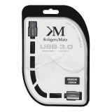 CABLU USB 3.0 PRELUNGITOR (1M )BLISTER KRUGER&M