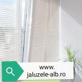 jaluzele orizontale pvc/alb 50 cm x 100 cm