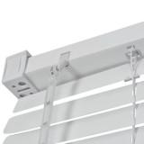 jaluzele orizontale pvc/alb L 55 cm x H 200 cm (SEMI-OPAC)