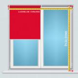 RULOU TEXTIL CLEMFIX MATERIAL OPAC TERMO K105 L 80X H 185 CM