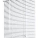 jaluzele orizontale pvc/alb L 55 cm x H 110 cm (SEMI-OPAC)