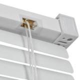 jaluzele orizontale pvc/alb L 75 cm x 150cm