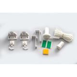 Sistem de prindere - Kit Clemfix Rulou Textil pentru tub 17