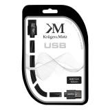 CABLU USB TATA-MICRO USB TATA (1.0M )KRUGER&MAT