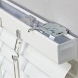 Jaluzele aluminiu la comanda alb L 70X H 130CM