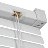 jaluzele orizontale pvc/alb L 30 cm x H 90 cm
