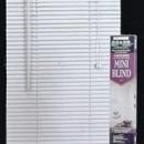 jaluzele orizontale pvc/alb L 60 cm x H 110 cm (SEMI-OPAC)