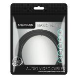 CABLU USB - MICRO USB (1M )BASIC K&M