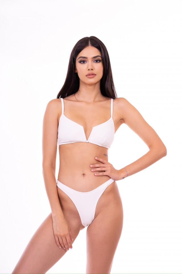 white swimsuit