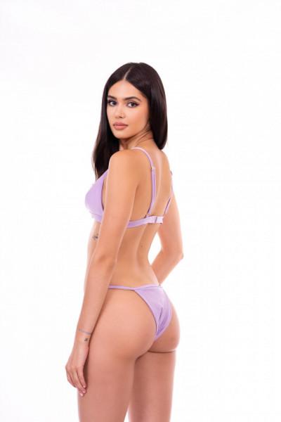 violet swimsuit