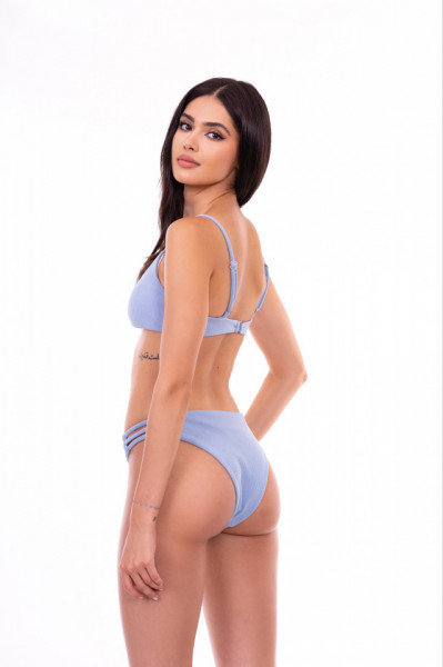 blue swimwear set