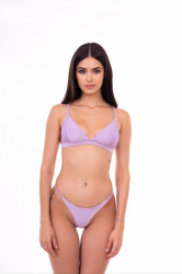 lilac swimsuit