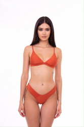 orange swimsuit set