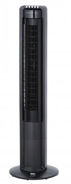 Ventilator Turn Fakir Prestige TV 18, 3 trepte viteza, 3 moduri de functionare, 40W, Functie oscilatie, Timer, Telecomanda, Negru