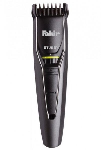 Aparat de tuns barba Fakir Stubby, Acumulatori, 40 min, Lame otel inox, 0.5 - 10 mm, 19 trepte, Negru/Crom