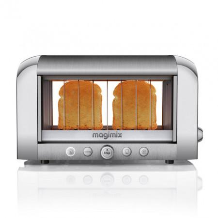 Prajitor transparent MAGIMIX Toaster Vision - crom