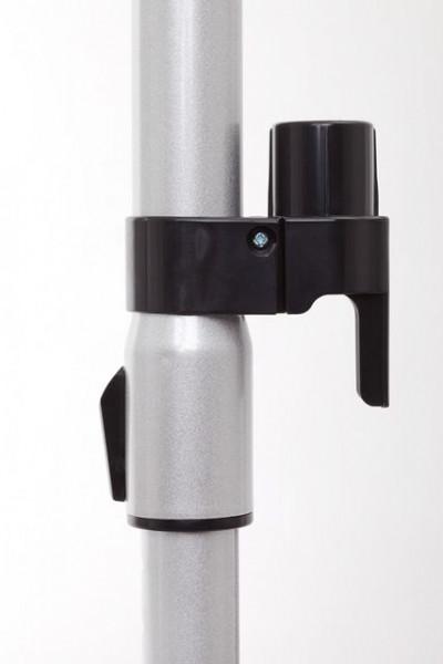 Aspirator cu sac Fakir Trend A1, 3.5 l, Tub telescopic, Perie speciala parchet, 750 W, Filtru EPA, Negru