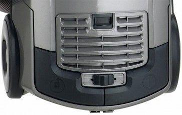 Aspirator cu sac Fakir Trend A2, 3.5 l, Tub telescopic, Perie Turbo, Perie speciala parchet, 750 W, Filtru EPA, Titan metalic