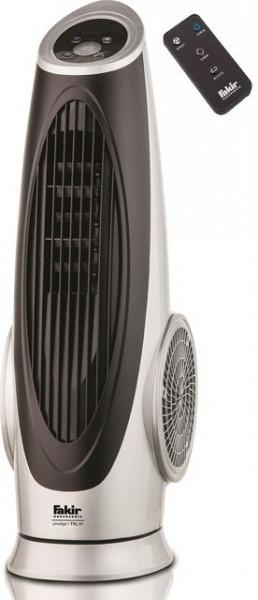 Ventilator Turn Fakir Prestige TVL 90, 3 trepte viteza, 90W, Debit aer: 800 m3/h, Functie oscilatie, Termometru, Timer, PRODUS RESIGILAT