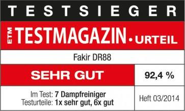 Sistem de curatare cu aburi DR 88 - FAKIR Germania