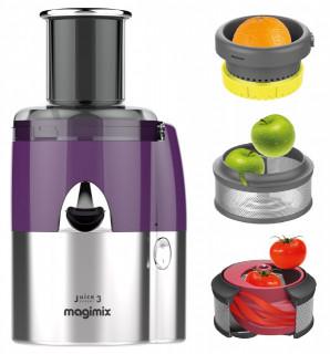 Extractor multifunctional de suc (la rece) Magimix JUICE EXPERT 3 - crom/violet