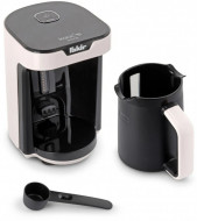 Aparat cafea turceasca Fakir Kaave, Luminasense Technology, 1-4 cesti, avertizare sonora, Alb