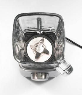 Power Blender MAGIMIX, 1300 W, 22,000 rpm, vas din sticlă 1,8 L, 3 ani garanție, crom mat