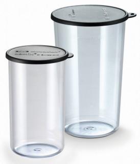 Set vase cu capac pentru mixerele bamix 400 ml si 600 ml - fara BPA