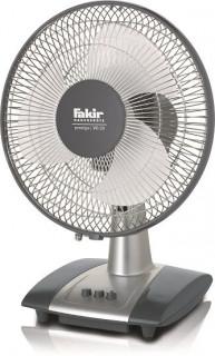 Ventilator de birou Fakir Prestige VC 29, 40 W, 2 trepte de viteza, Debit aer: 1300 m3/h, Functie oscilare, Argintiu