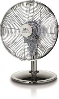 Ventilator de birou Fakir Prestige VL 30 G, 45 W, 3 trepte de viteza, Debit aer: 1600 m3/h, Functie oscilare, Argintiu lucios