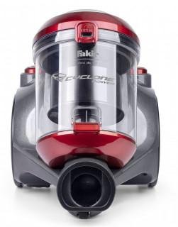 Aspirator fara sac Fakir trend BL 141, 2 l, Tub telescopic metalic, 700 W, Filtru EPA, Rosu/Antracit