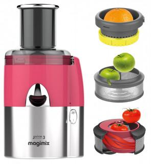 Extractor multifunctional de suc (la rece) Magimix JUICE EXPERT 3 - crom/roz