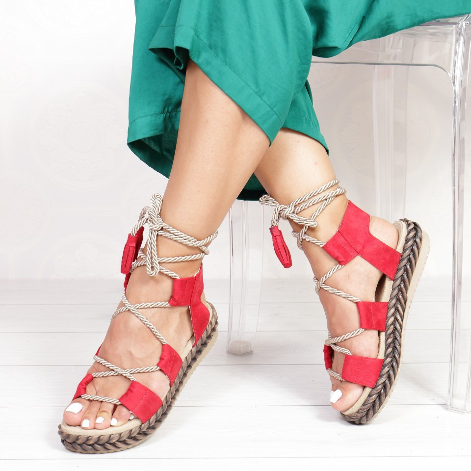 SANDALE ROMA RED