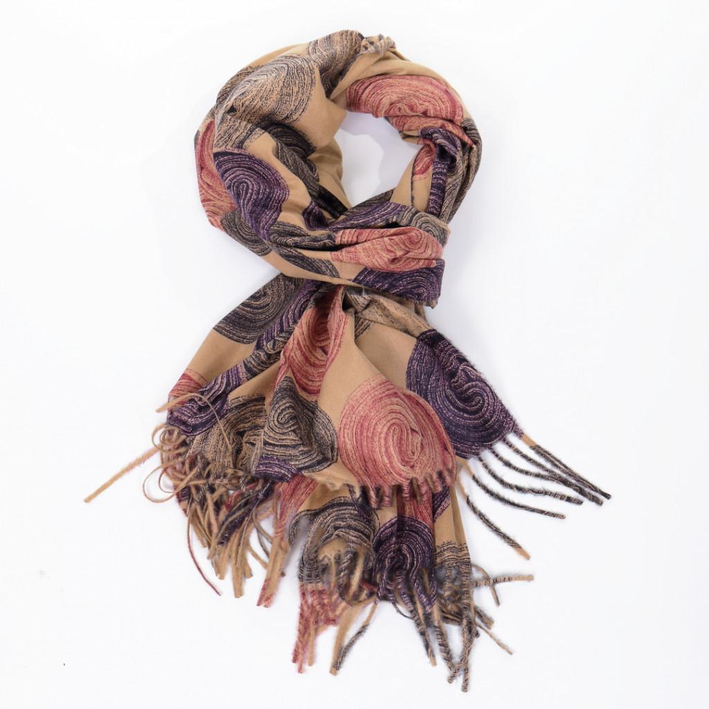 Esarfa maro colorata Ronita