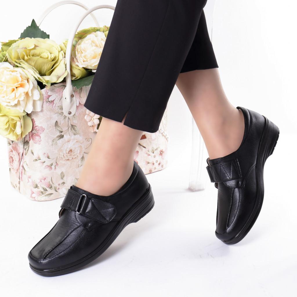 Pantofi piele ecologica Asla