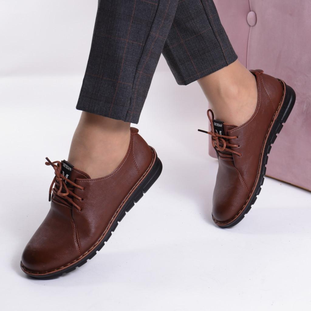 Pantofi piele ecologica Emine