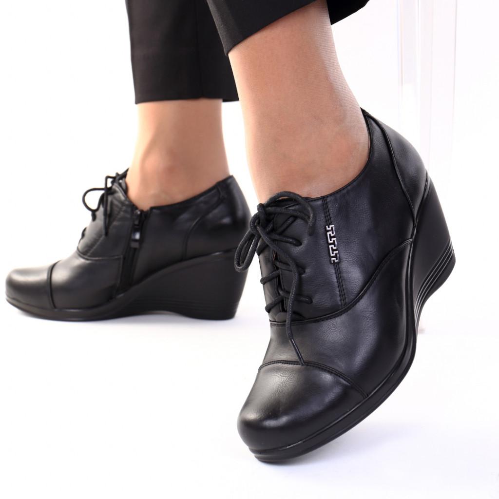 Pantofi piele ecologica Roua