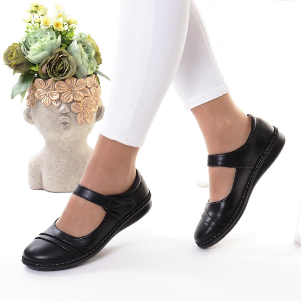 Pantofi piele ecologica Taipa