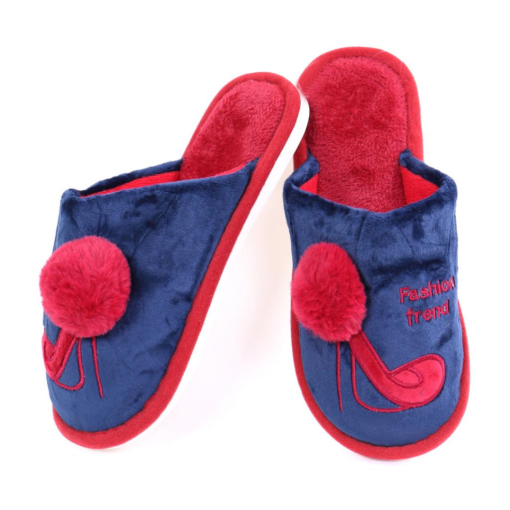Papuci cu model albastri Ari