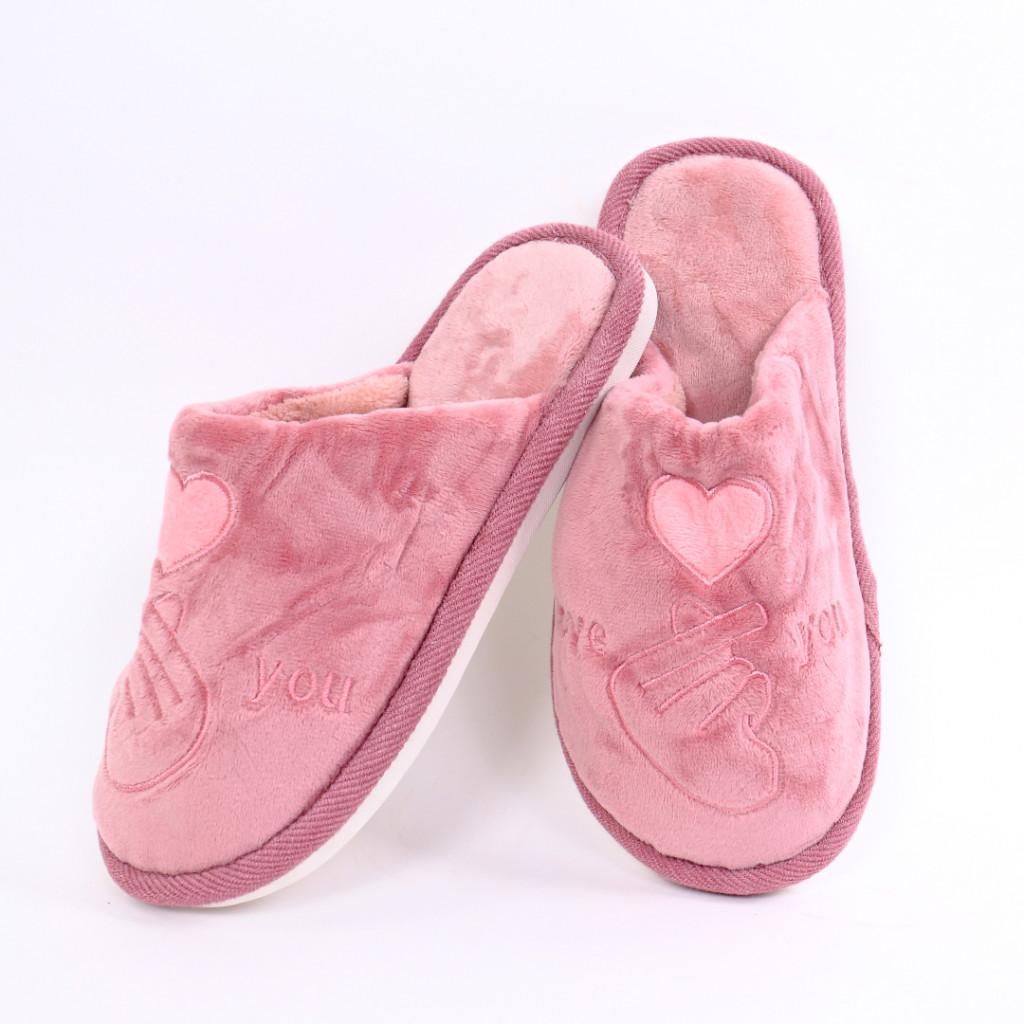 Papuci cu model roz Damiz