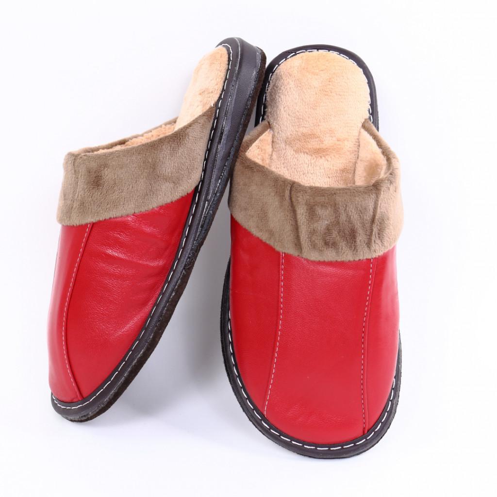 Papuci simpli rosii Vida