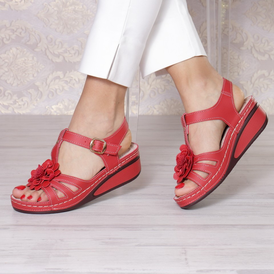 SANDALE CAMEA RED
