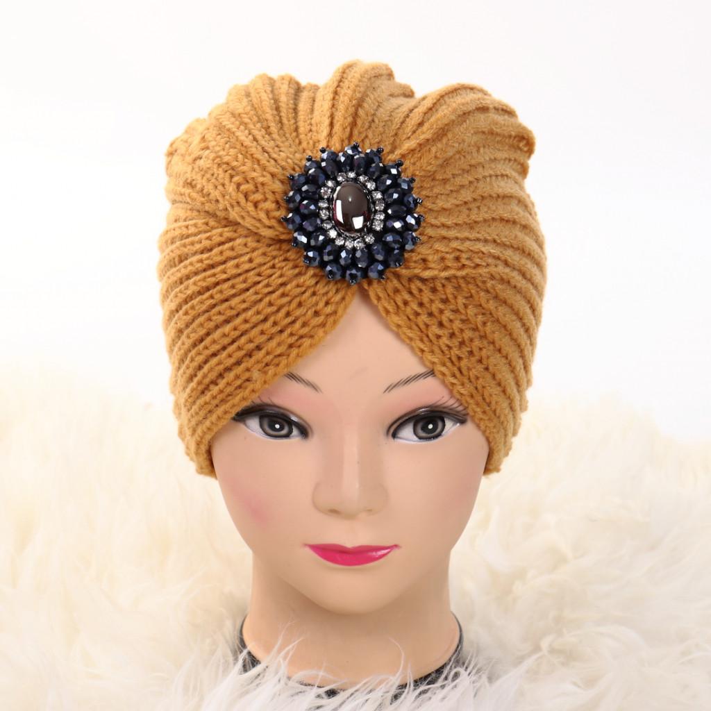 Turban cu model mustar Ovo