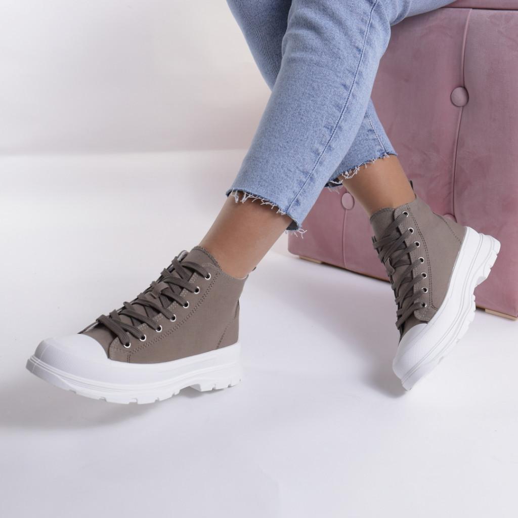 Adidasi verzi material textil Simbi