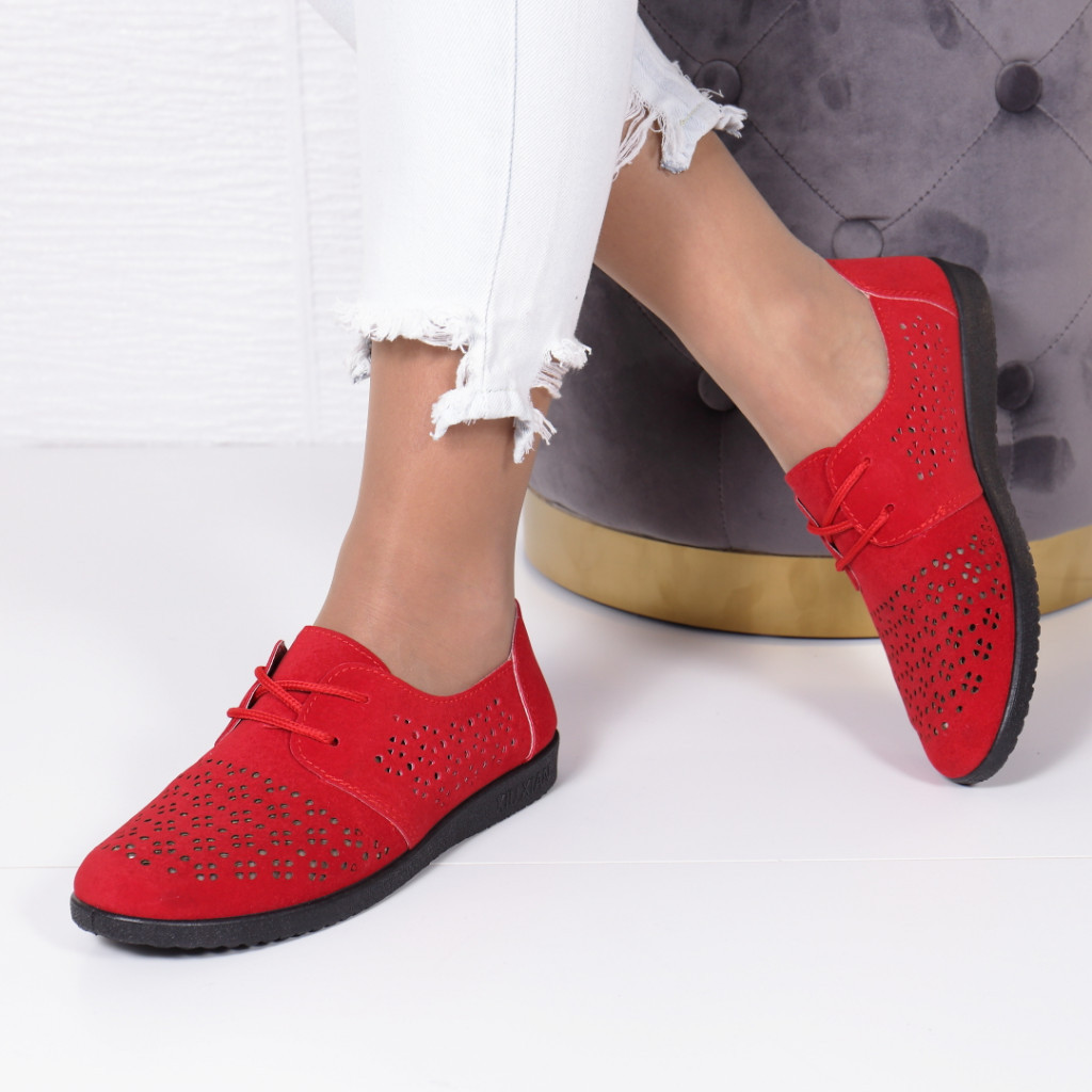 PANTOFI FILENA RED