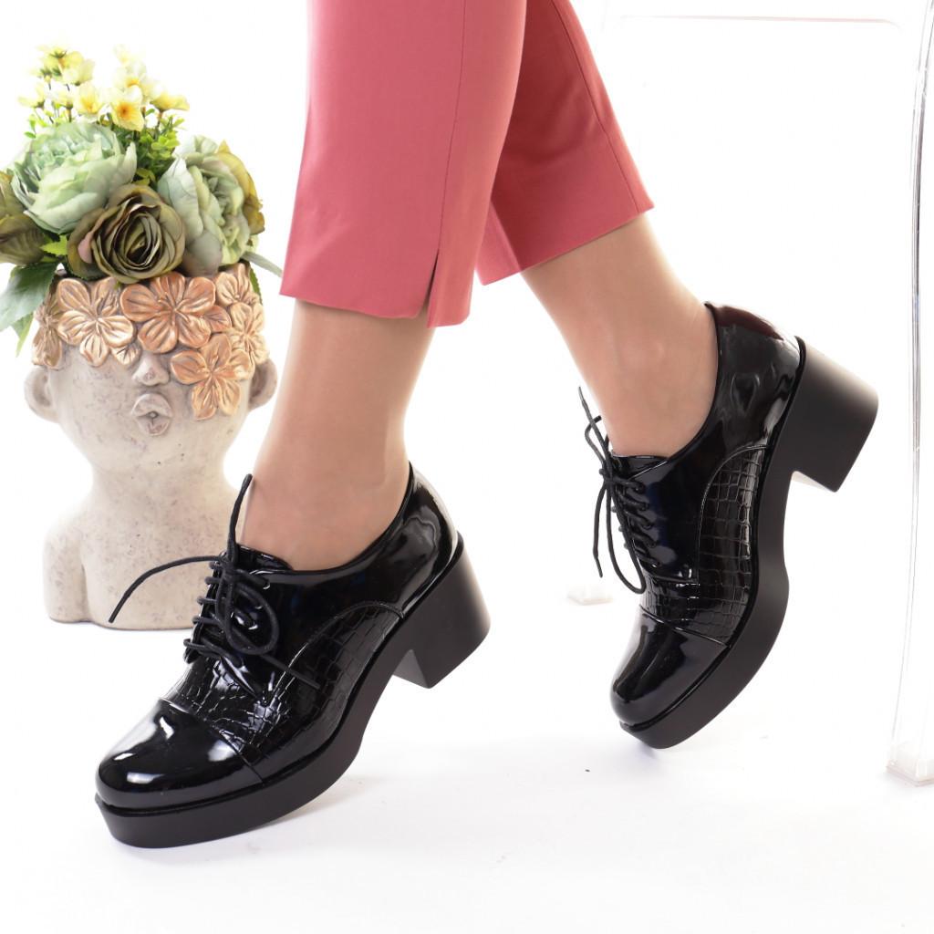 Pantofi piele ecologica Angeline