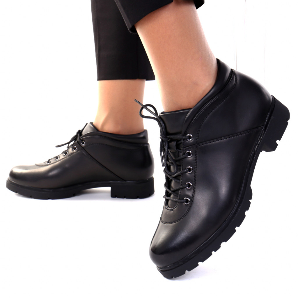 Pantofi piele ecologica Dariusa