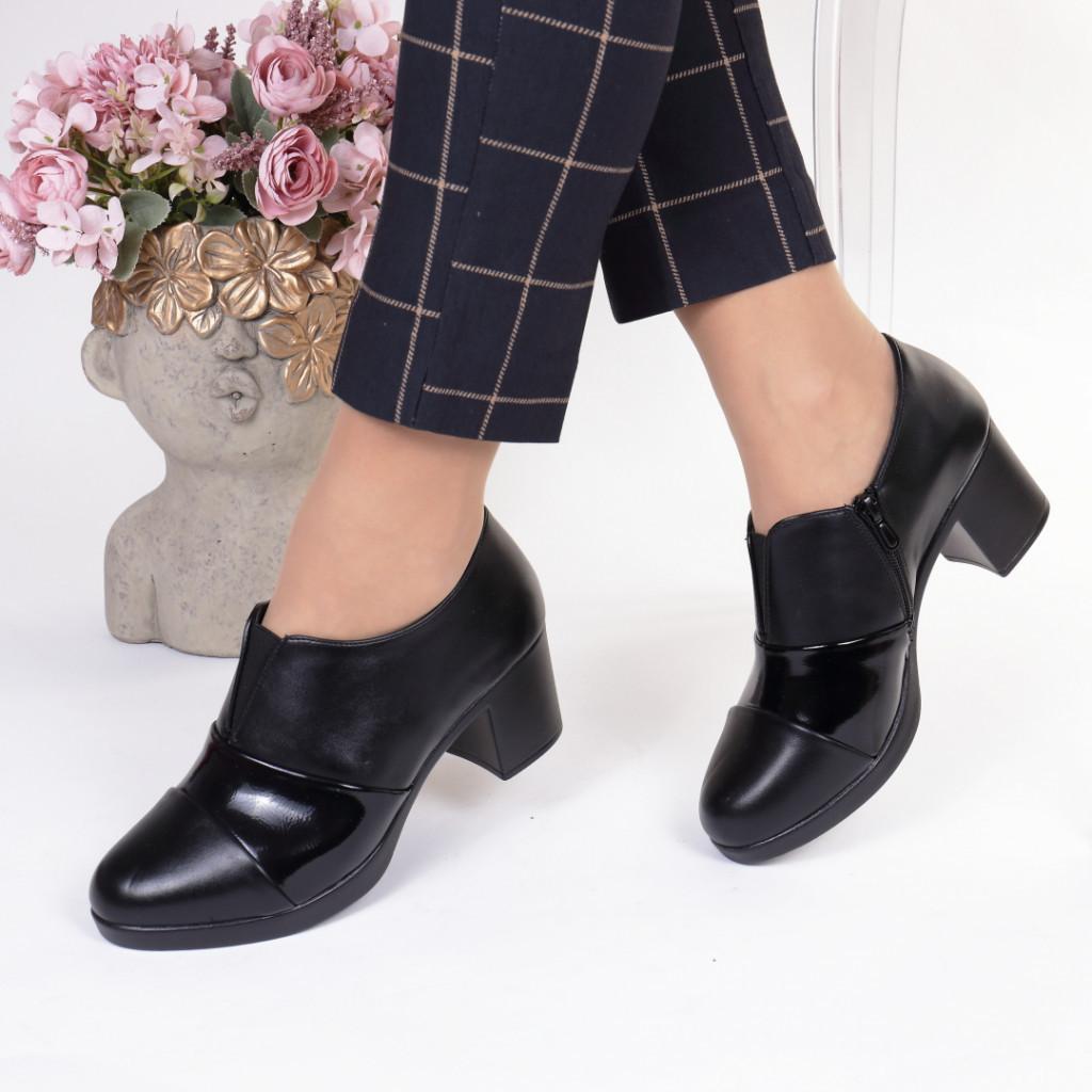 Pantofi piele ecologica Nadina