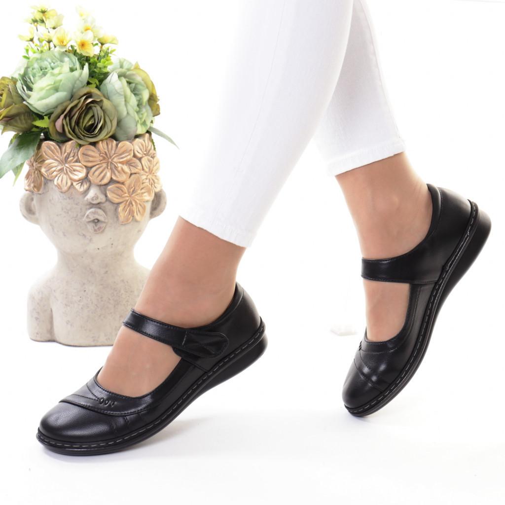 Pantofi piele ecologica Onoria