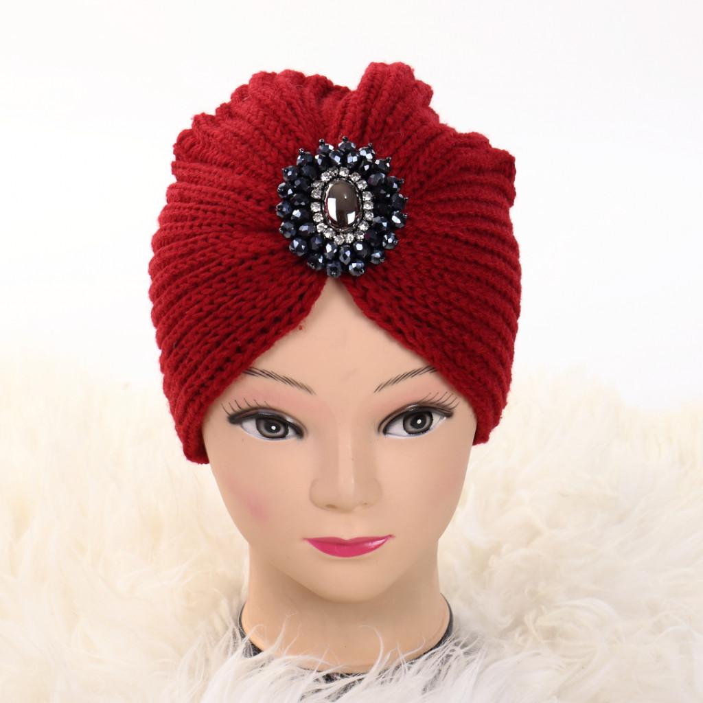 Turban cu model rosu Ovo